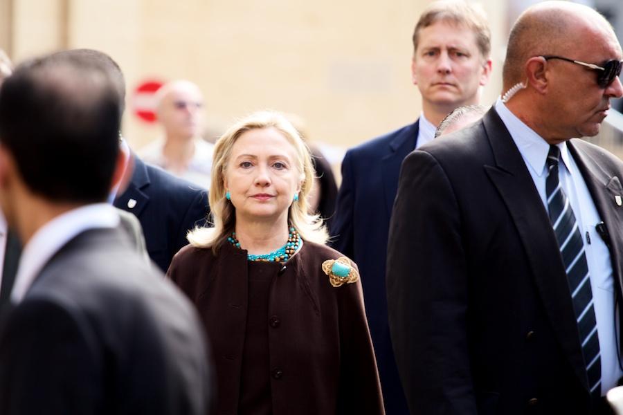 Hillary Clinton in Malta