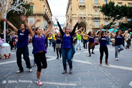 ZiguZajg Dance in Valletta