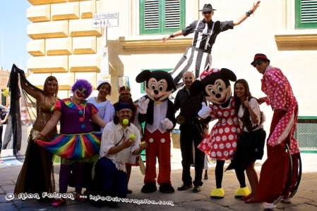 Circus,Valletta, Animators,European Maritime Day