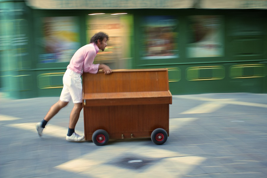 Piano Busker